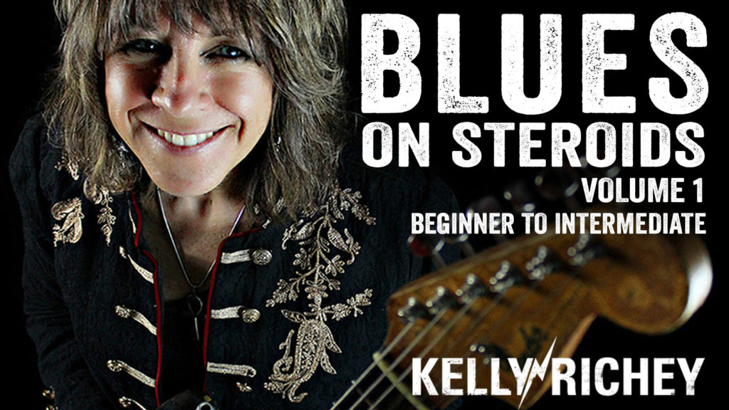 Kelly Richey's BLUES ON STEROIDS-Volume 1