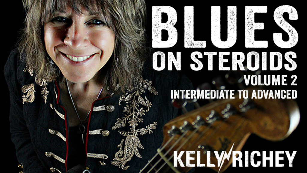 Kelly Richey's BLUES ON STEROIDS-Volume 2