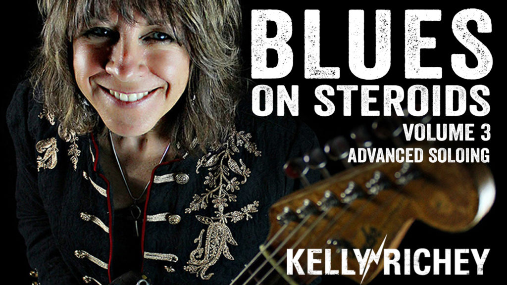 Kelly Richey's BLUES ON STEROIDS-Volume 3